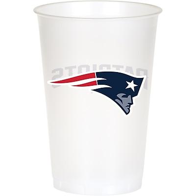 NFL New England Patriots Plastic Cups 8 pk (019519) 24008566