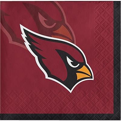NFL Arizona Cardinals Beverage Napkins 16 pk (659501)