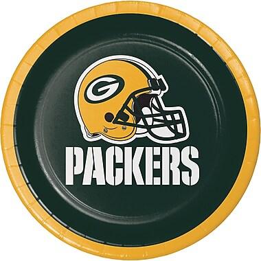 NFL Green Bay Packers Dessert Plates 8 pk (419512)
