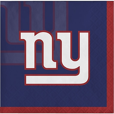 NFL New York Giants Beverage Napkins 16 pk (659521)