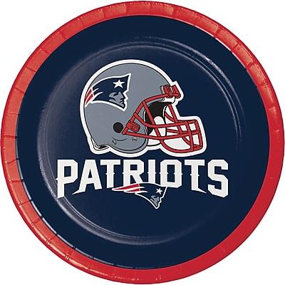 NFL New England Patriots Dessert Plates 8 pk (410519) 24008552