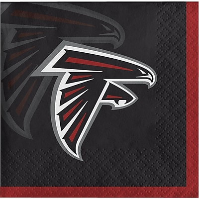 NFL Atlanta Falcons Beverage Napkins 16 pk (659502)