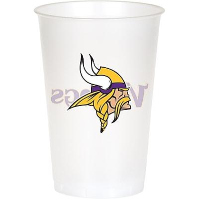 NFL Minnesota Vikings Plastic Cups 8 pk (019518) 24008580