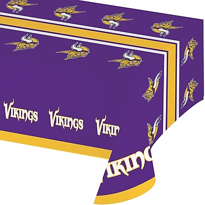 NFL Minnesota Vikings Plastic Tablecloth (729518) 24008135