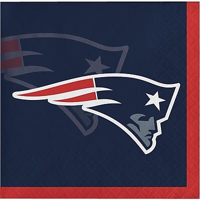 NFL New England Patriots Beverage Napkins 16 pk (650519)