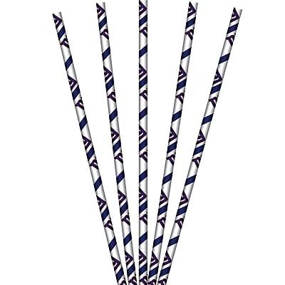 NFL New York Giants Paper Straws 24 pk (059521)