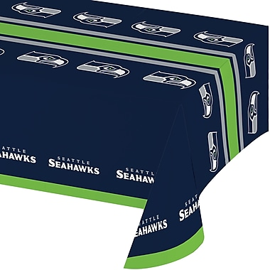 NFL Seattle Seahawks Plastic Tablecloth (729528)