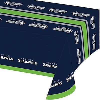 NFL Seattle Seahawks Plastic Tablecloth (729528)