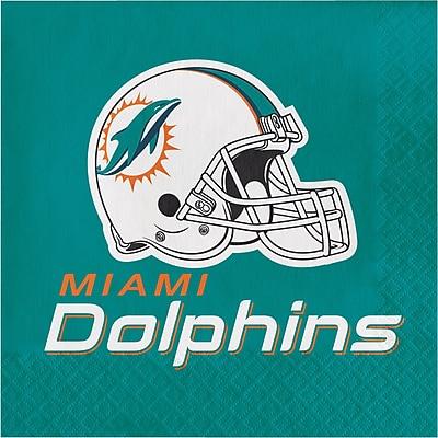 NFL Miami Dolphins Napkins 16 pk (669517)