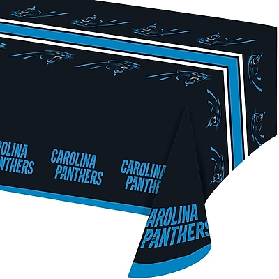 NFL Carolina Panthers Plastic Tablecloth (729505)