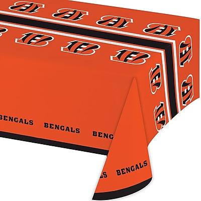 NFL Cincinnati Bengals Plastic Tablecloth (729507)