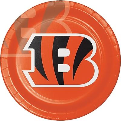 NFL Cincinnati Bengals Paper Plates 8 pk (429507)