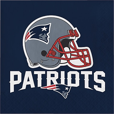 NFL New England Patriots Napkins 16 pk (660519)