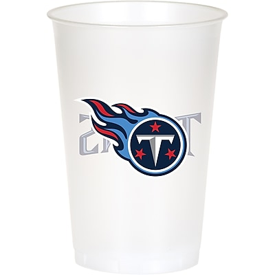 NFL Tennessee Titans Plastic Cups 8 pk (019531)