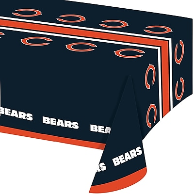 NFL Chicago Bears Plastic Tablecloth (729506) 24008520