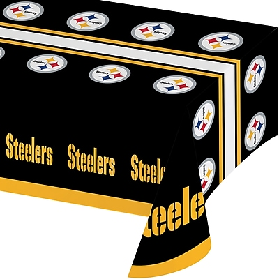 NFL Pittsburgh Steelers Plastic Tablecloth (729525) 24008396