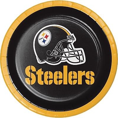 NFL Pittsburgh Steelers Dessert Plates 8 pk (419525)
