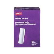 "Staples 8.5"" x 98' Thermal Fax Paper, 6/Carton (27123/269571/18)"
