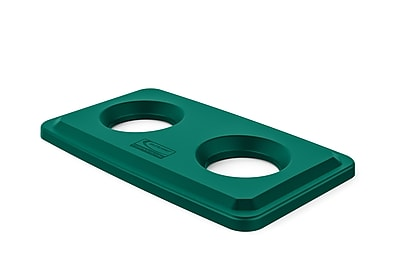 Suncast Commercial Bottle and Can Lid, Green (TCNLID02G)