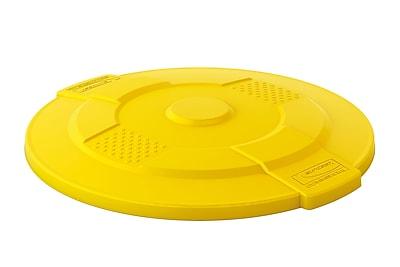 Suncast Commercial Utility Trash Lid, 55 Gallon, Yellow (TCU55LIDY)