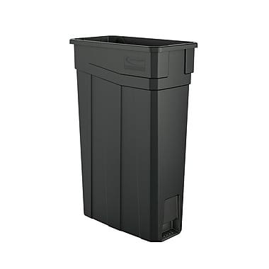 Suncast Commercial Slim Trash Can, 23 Gallon (TCN2030)