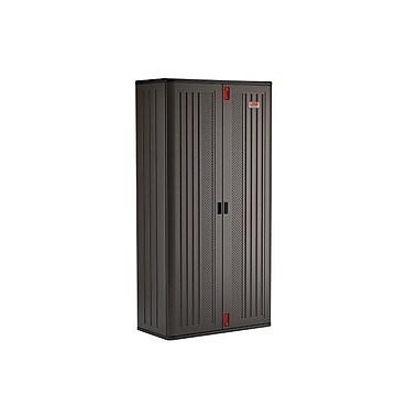 suncast commercial mega tall storage cabinet, 4 shelf (bmccpd8004