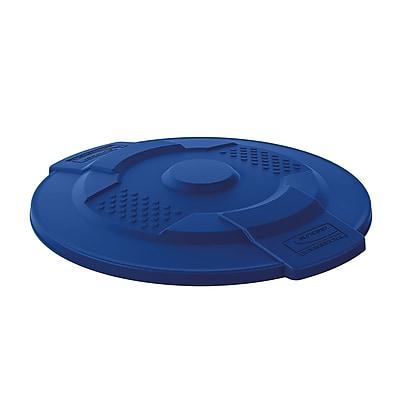 Suncast Commercial Utility Trash Lid 20 Gallon, Blue (TCU20LIDBL)