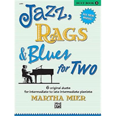 Alfred Jazz- Rags & Blues for Two- Book 3 - Music Book(ALFRD43792)