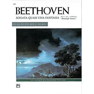 Alfred Moonlight Sonata- Op. 27- No. 2- Complete - Music Book(ALFRD44728)