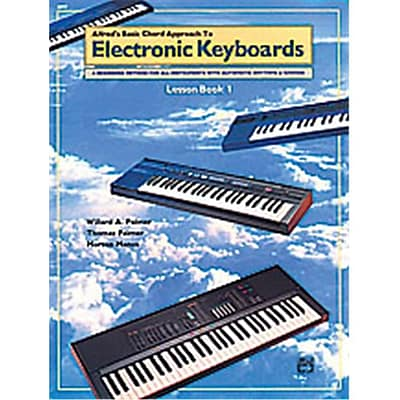 Alfred Basic Chord Approach to Electronic Keyboards- Lesson Book 1 - Music Book(ALFRD40597)