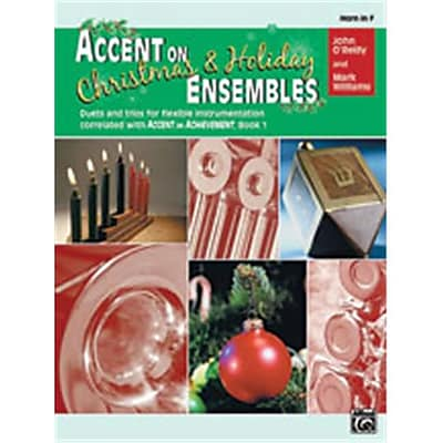 Alfred Accent on Christmas and Holiday Ensembles - Music Book(ALFRD24915)