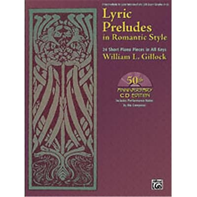 Alfred Lyric Preludes in Romantic Style - Music Book(ALFRD41980)