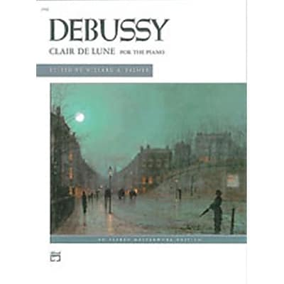 Alfred Clair de lune- from Suite Bergamasque - Music Book(ALFRD44607)