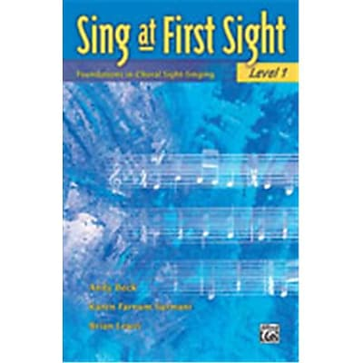 Alfred Sing at First Sight- Level 1 - Music Book(ALFRD46263)