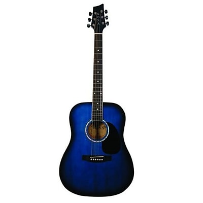 Kona Dreadnought Acoustic Guitar - Blue burst(MNMM1244)