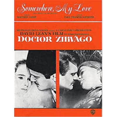 Alfred Somewhere My Love- Lara s Theme from Dr. Zhivago - Music Book(ALFRD46094)