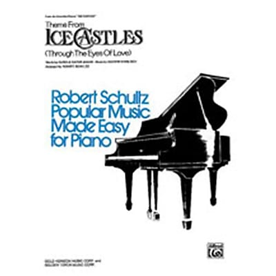 Alfred Ice Castles- Theme from- Through the Eyes of Love - Music Book(ALFRD45358)