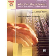 Alfred What Can I Play on Sunday- Book 5- September & October Services - Music Book(ALFRD42675)
