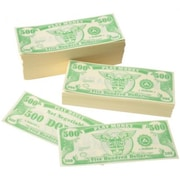 Us Toy 1000 Pack Of Play 500 Dollar Money Bills - 7 Per Bags (Ustcyc173757)