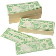 Us Toy 1000 Pack Of Play 20 Dollar Money Bills - 7 Per Bags (Ustcyc173703)