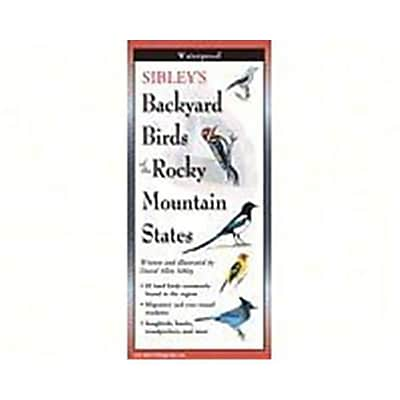 Steven M. Lewers Earth Sky Water Sibleys Backyard Birds Of Rocky Mountain States Posters (Gc23550) 23981783