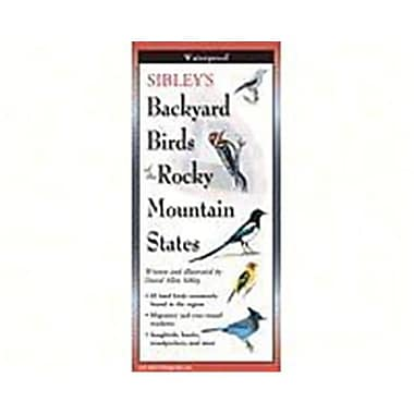Steven M. Lewers Earth Sky Water Sibleys Backyard Birds Of Rocky Mountain States Posters (Gc23550)