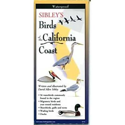 Steven M. Lewers Earth Sky Water Sibleys Birds Of The California Coast Poster (Gc23756) 23981645