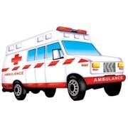 Platapilla Usa Ambulance Floor Puzzle (Edre53376)