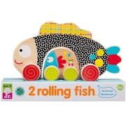 Alex By Panline Usa 2 Rolling Fish (Edre50891)