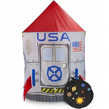Brybelly Holdings Space Adventure Roaring Rocket Play Tent (Brybl4021)