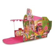 Playhut Cubetopia Foxberry Gardens Playhouse, Pink - 46.5 X 34 X 74.5 In. (Plyht023)