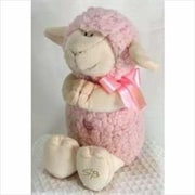 Stephan Baby Toy Plush Musical Lamb Jesus Loves Me 11 In. Pink (Ancrd25894)