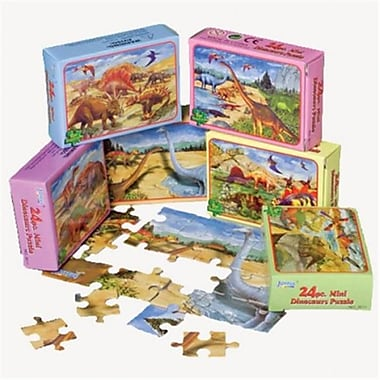 Us Toy Dinosaur Jigsaw Puzzles - 12 Per Pack - Pack Of 7 (Ustcyc172886)