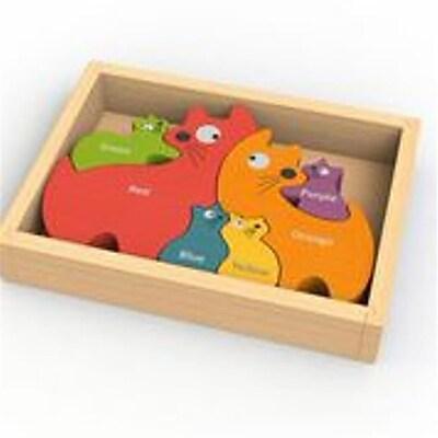 Begin Again Toys Toys Cat Family Puzzle (Grntm061) 23981894
